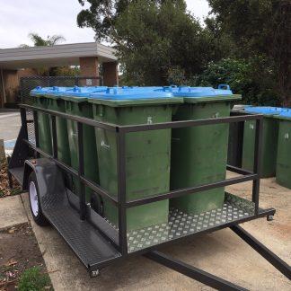 Event rubbish removal trailer